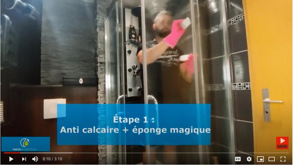 TUTO : traitement anti-calcaire pour les parois de douche