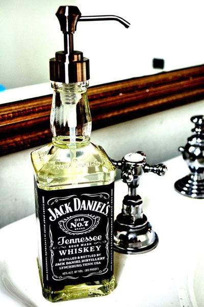 bouteille porte savon
