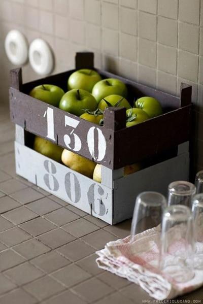 pommes cagettes