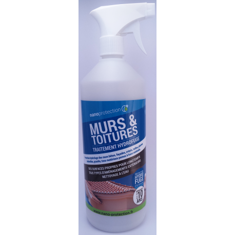 traitement anti mousse hydrofuge toiture